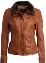 Oakwood Leather jacket cognac