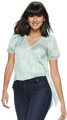 Nine West Women's Puff Sleeve Top