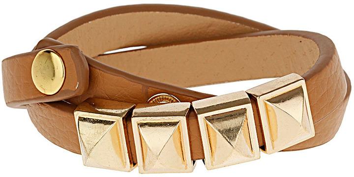 Topshop Double Wrap Stud Bracelet