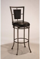 "Hillsdale Auckland 24"" Swivel Counter Stool Furniture"