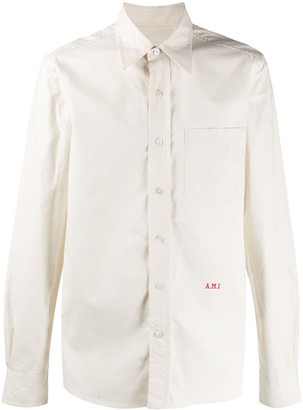 Ami Paris A.M.I embroidered shirt