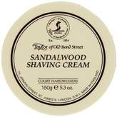 Taylor of Old Bond Street SHAVING CREAM for SANDALWOOD 150g x 2 Bowls by