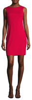 Susana Monaco Liana Cowl Back Sheath Dress