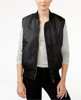 Rachel Roy Reversible Bomber Vest, Only at Macy's