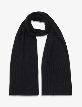 Reiss Raffterty ribbed scarf