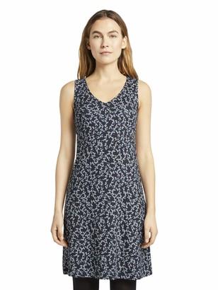 Tom Tailor Women's Jersey Shirt Dress
