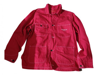 Supreme Pink Cotton Jackets
