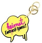 Strumbel x MCM Heimat Loves You Keychain