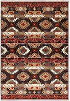 "LNR Home Adana Brown Plush Indoor Rectangle Area Rug 7'9"" x 9'9"""