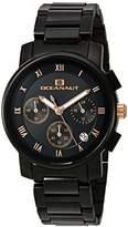 Oceanaut Women's 'Riviera' Quartz Stainless Steel Casual Watch, Color:Black (Model: OC0639)