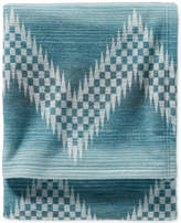 Pendleton Willow Basket Organic Cotton Jacquard Queen Blanket