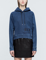 McQ by Alexander McQueen Cropped Hoodie