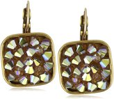 "Liz Palacios Arco Iris"" Swarovski Elements Droozy Crystal Earrings"