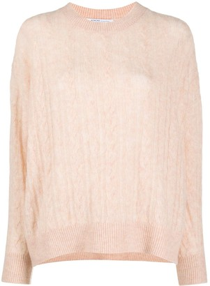 Agnona Cashmere Cable-Knit Jumper
