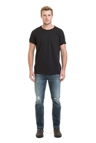 Country Road Slim Tapered Raw Hem Jean
