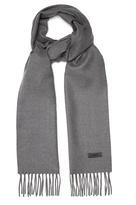 Lanvin Fringed wool scarf