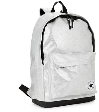 Converse Kid's Glitter Logo Patch Backpack
