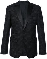 DSQUARED2 classic fitted blazer - men - Cotton/Polyamide/Polyester - 50