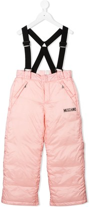 MOSCHINO BAMBINO Padded Suspender Trousers