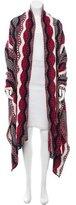 Chanel Paris-Dallas Wool Cashmere Blanket Shawl