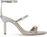 Sophia Webster Rosalind 85 Silver Leather Sandals