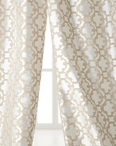 "Softline Home Fashions Each 55""W x 96""L Palisade Tile Curtain"