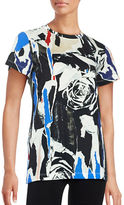 DKNY Abstract Floral Tee