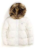 Tommy Hilfiger Big Girl's Fur-Lined Puffer Jacket