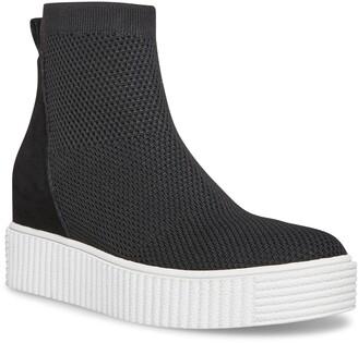 STEVEN NEW YORK Cathay High Top Slip-On Sneaker Boot