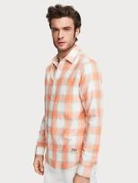 Scotch & Soda Shadow Checked Shirt Regular fit | Men