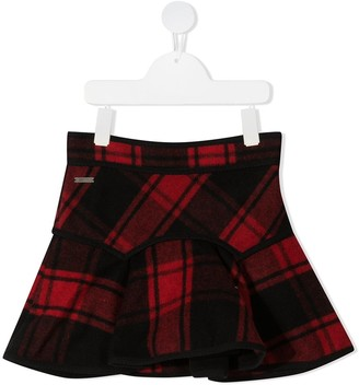 DSQUARED2 Tartan Checked Skirt