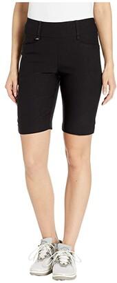 Callaway 9.5 Pull-On Shorts (Caviar) Women's Shorts