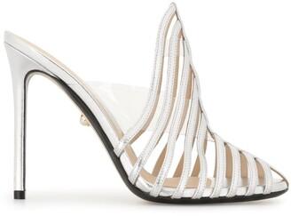 ALEVÌ Milano Sculpted Strap Sandals