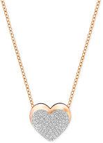 Swarovski Pavé Heart Pendant Necklace