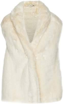 Stella McCartney Asymmetric Faux Fur Vest