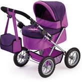 Bayer Trendy Dolls Pram - Plum and Purple