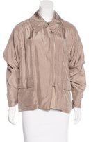 Nina Ricci Silk Lightweight Jacket