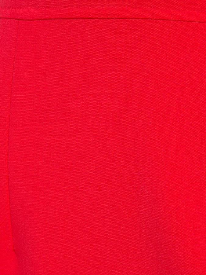 Carolina Herrera flared hem fitted dress
