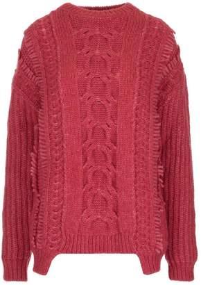 Stella McCartney Cable Knit Oversize Sweater