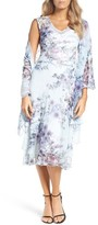Komarov Women's A-Line Dress & Shawl