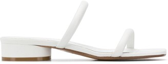 Maison Margiela flat leather sandals