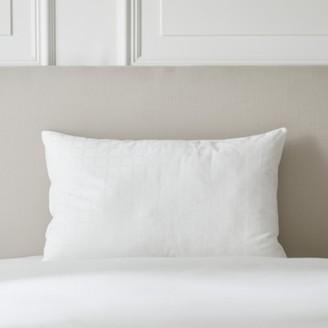 The White Company Soft & Light Breathable Pillow - Medium, No Colour, Large Square