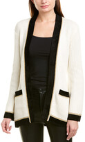Derek Lam 10 Crosby Belted Wool-Blend Cardigan