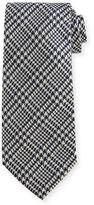 Tom Ford Striped Houndstooth Silk Tie