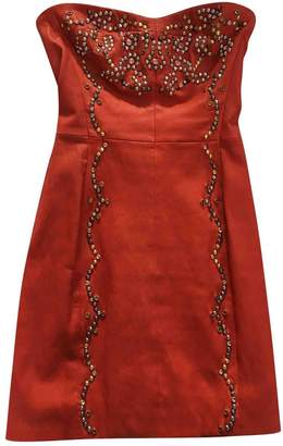 Isabel Marant \N Red Leather Dresses