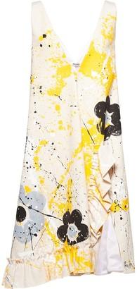 Miu Miu v-neck sleeveless dress