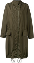Stella McCartney drawstring hem coat - women - Polyester - 40