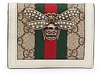 Gucci Women's Queen Margaret GG Supreme Card Case