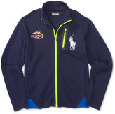 Ralph Lauren Little Boys' US Open Graphic Full-Zip Jacket