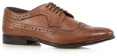 Red Herring Tan Leather Brogues